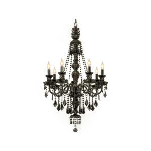 Chandelier-Black-7-bulb