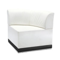 Coco Sectional - Corner - White