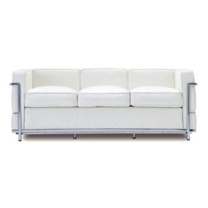 LC2-Sofa-White
