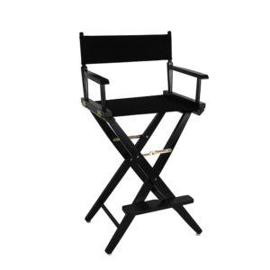 Directors Chair – High – Black
