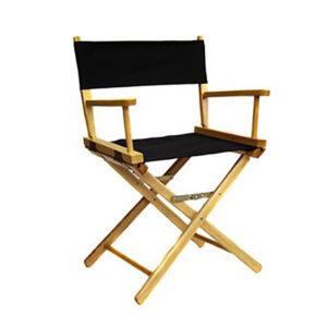 Directors Chair – Low – Natural