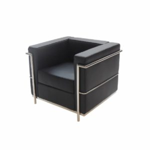 LC2-Chair-Black