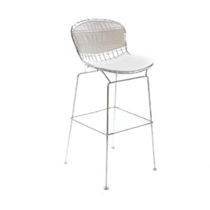 Marina-Wire-Mesh-Bar-Stool-White