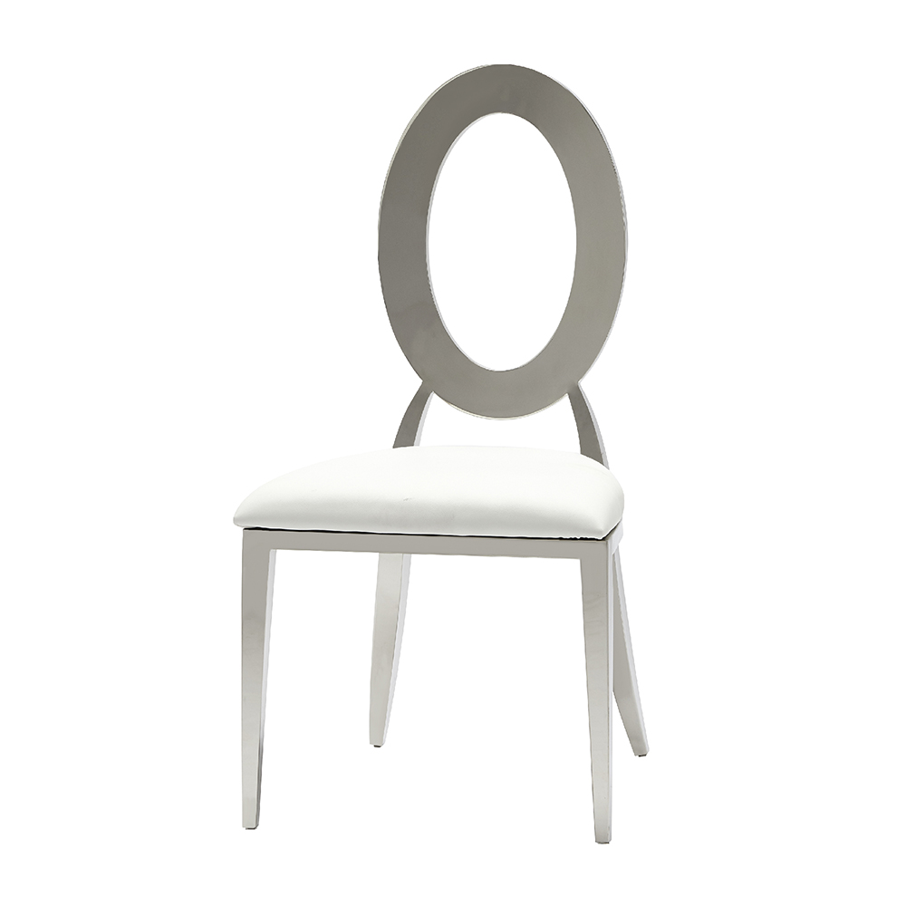 Monaco Dining Chair White