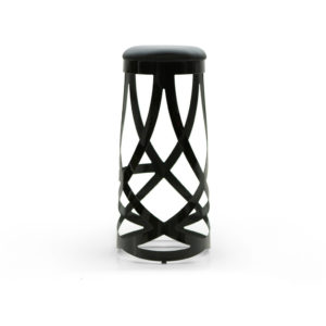 Ribbon Bar Stool – Black