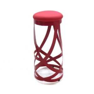 Ribbon-Barstool-Red