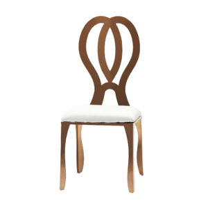 Rose-Gold-Dining-Chair-White-Pad