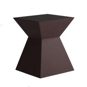 Aztec-End-Table-Mahogony