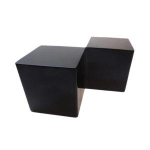 Rubik's Cube End Table – Black