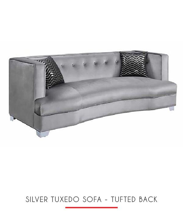 Slipcover Tuxedo Sofa: TUXEDO SOFA