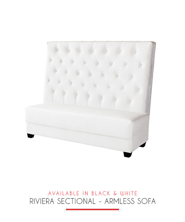 Riviera Sectional Armless Sofa