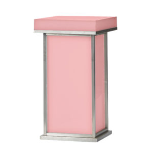Translucent Cocktail Table-Red