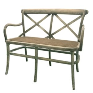 countryside bench distressed